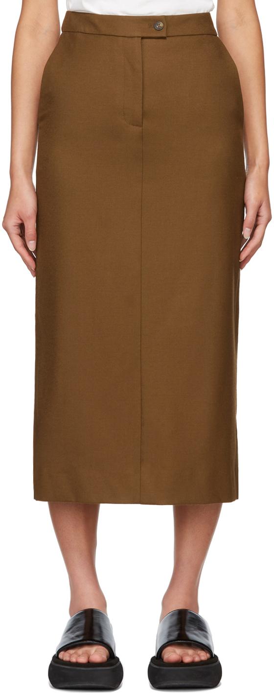 Brown Sarnosa Skirt