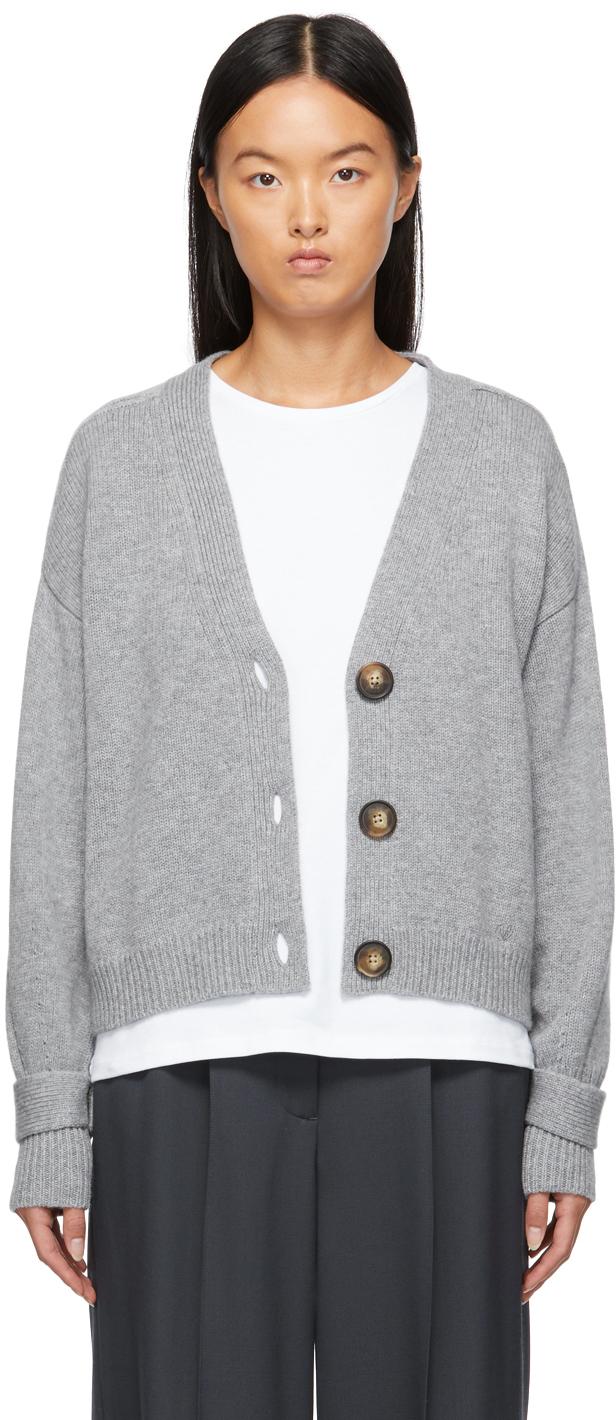 Grey New Tiberine Cardigan