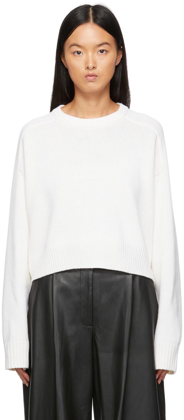 White Bruzzi Sweater