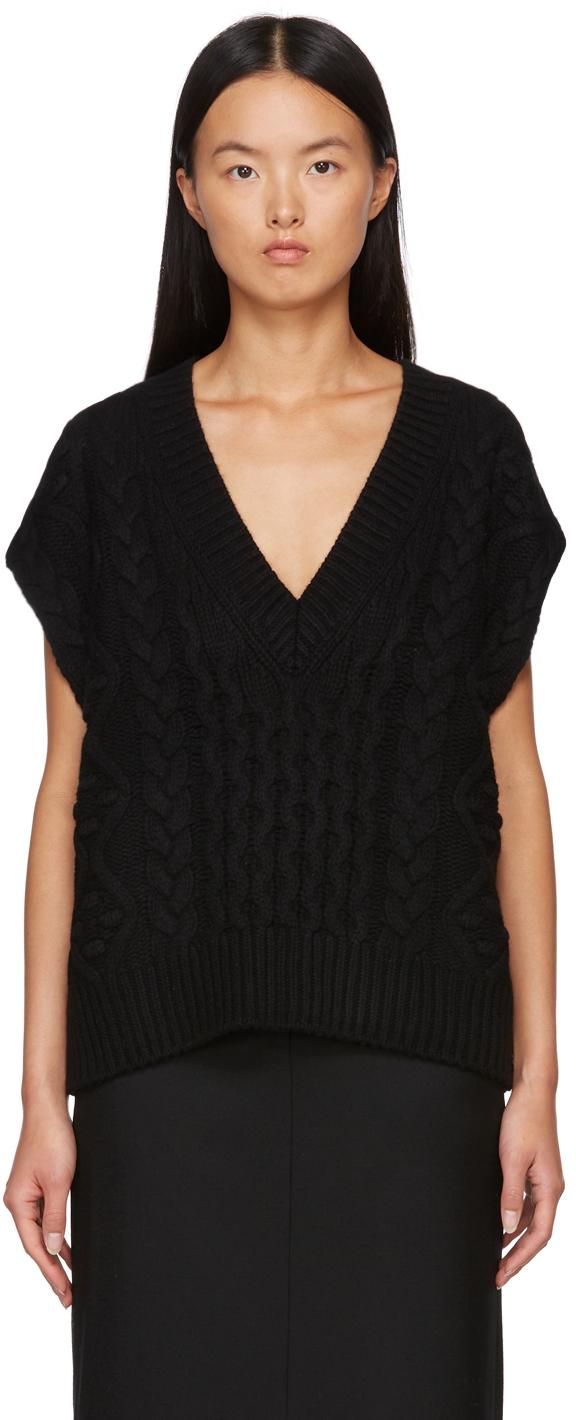Black Torreta Sweater Vest