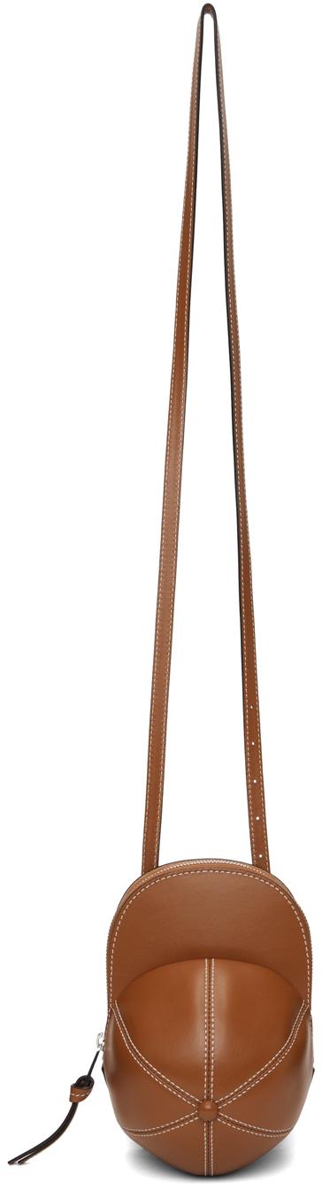 Brown Midi Cap Bag