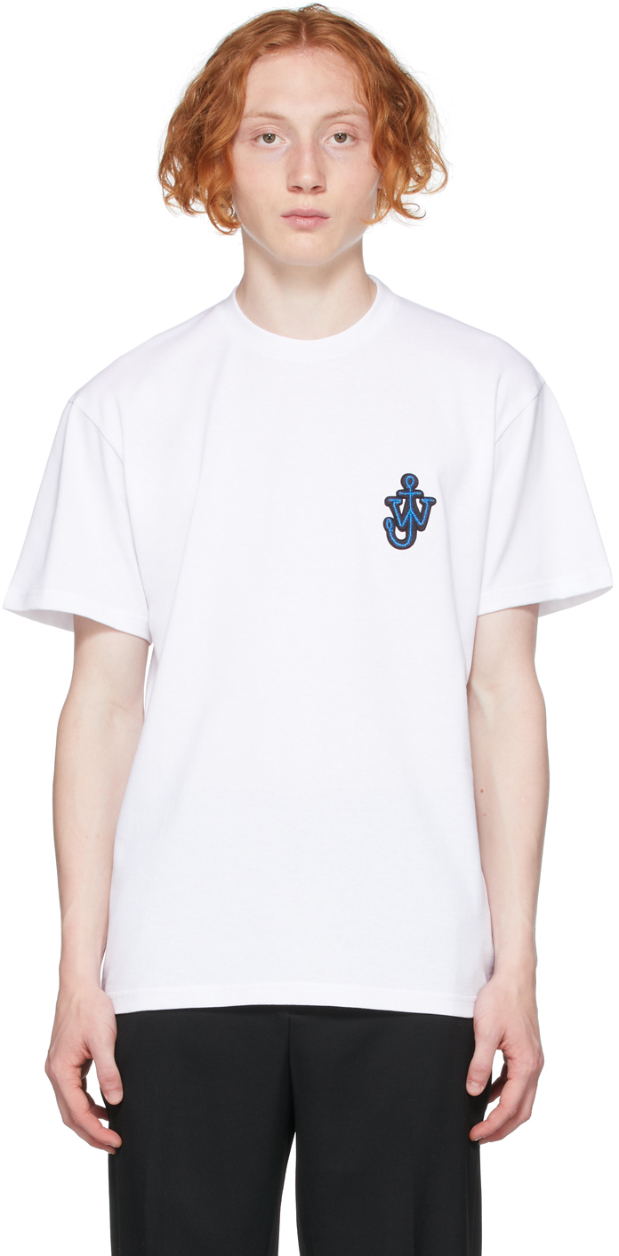 White Anchor Patch T-Shirt