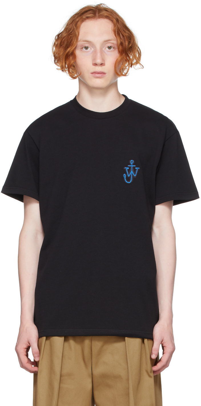 Black Anchor Patch T-Shirt