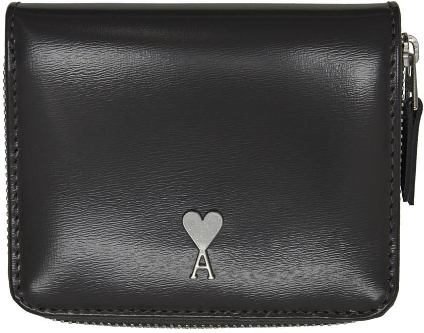 Grey Ami de Cœur Compact Wallet