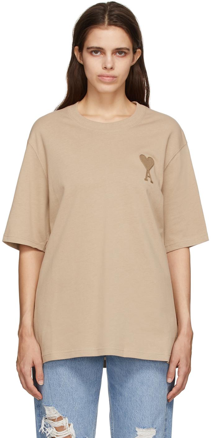Beige Ami De Coeur T-Shirt