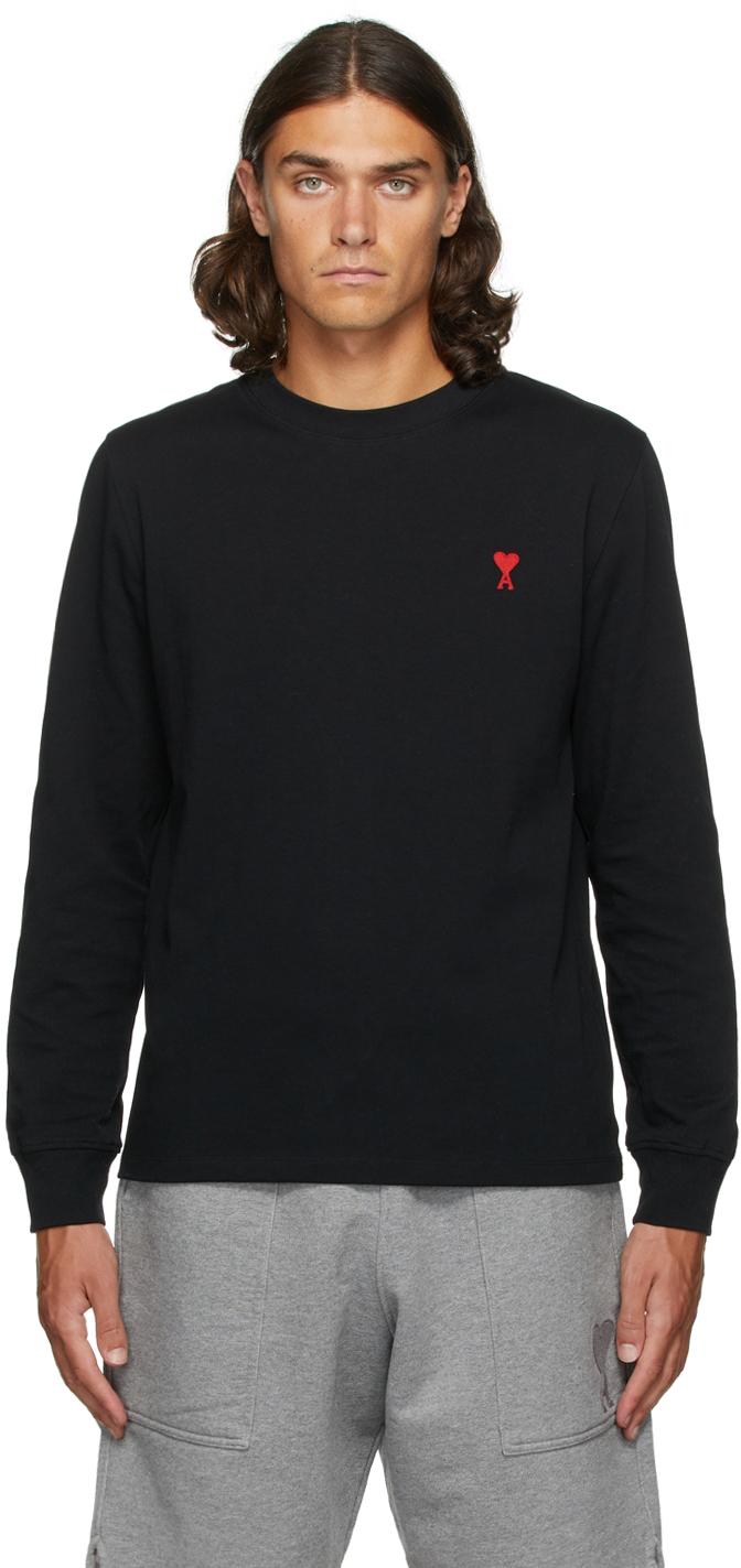 Black Ami de Cœur Long Sleeve T-Shirt
