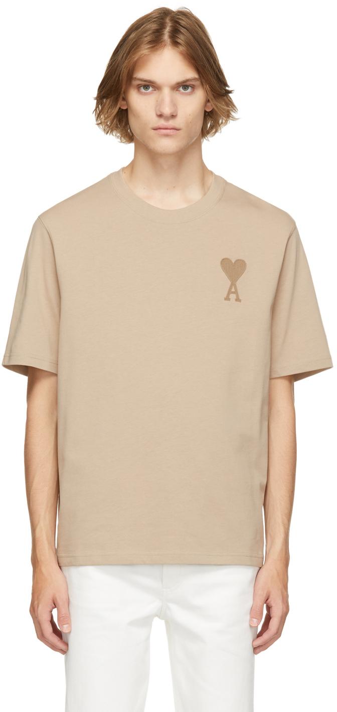 Beige Ami de Cœur T-Shirt