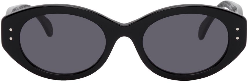 Black Round Cat Eye Sungalsses