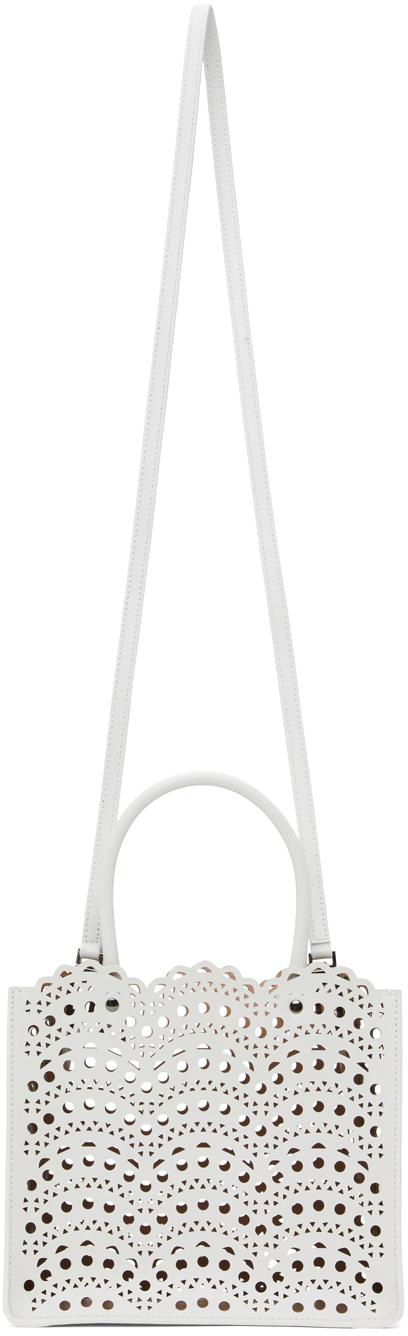 White Mini Vienna Vague Garance 20 Bag