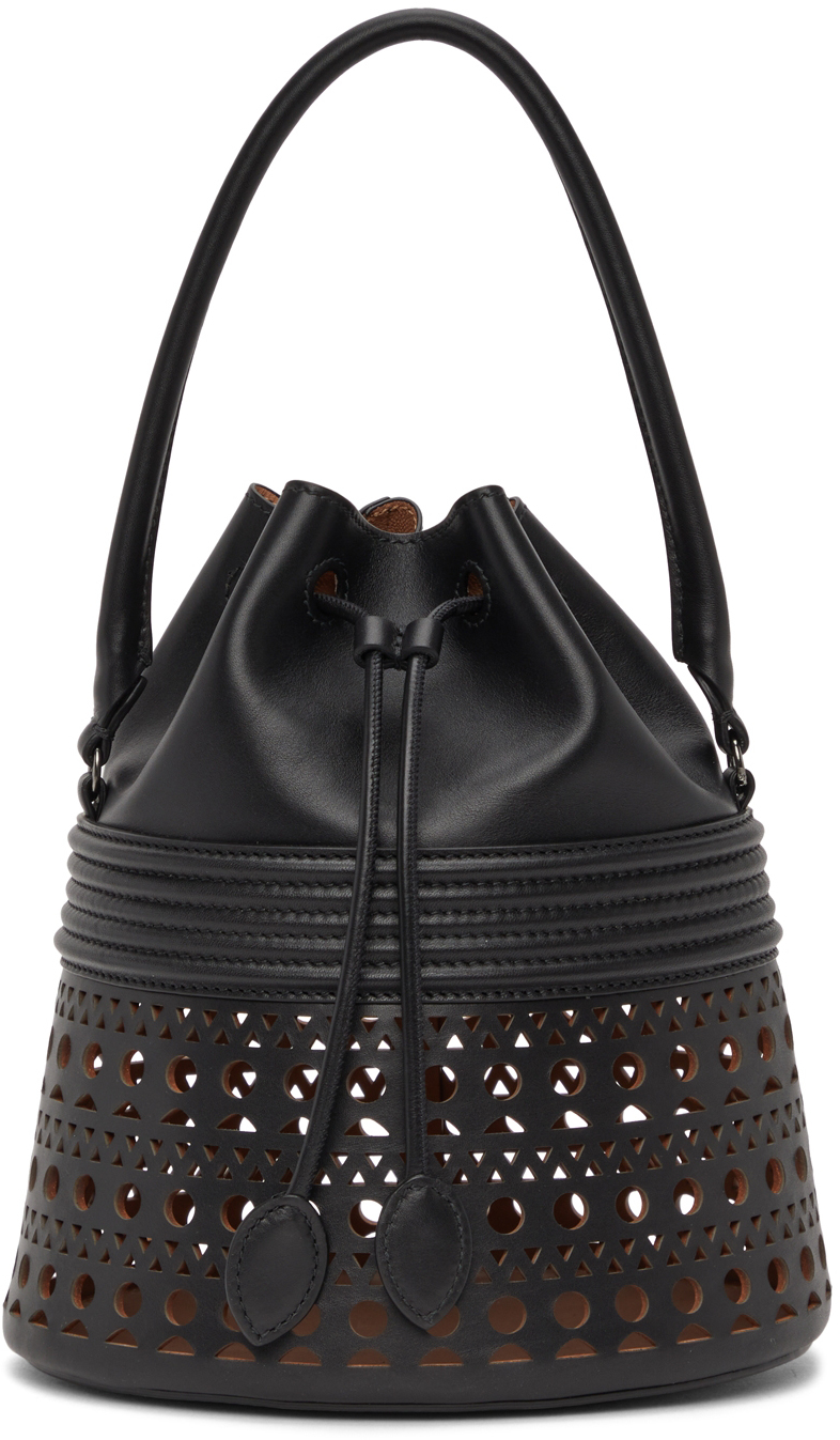 Black Corset 19 Bucket Bag