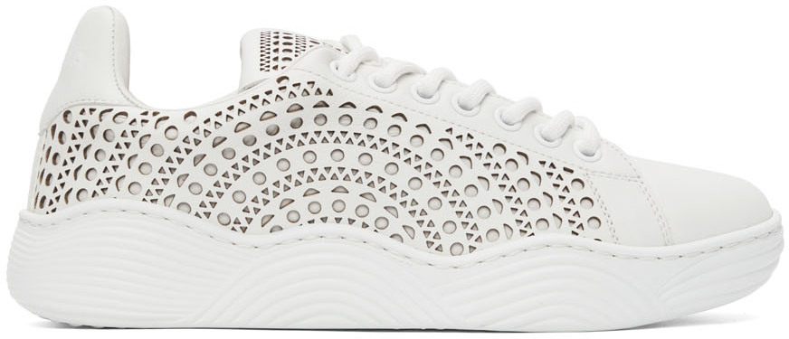 White Vienne Sneakers