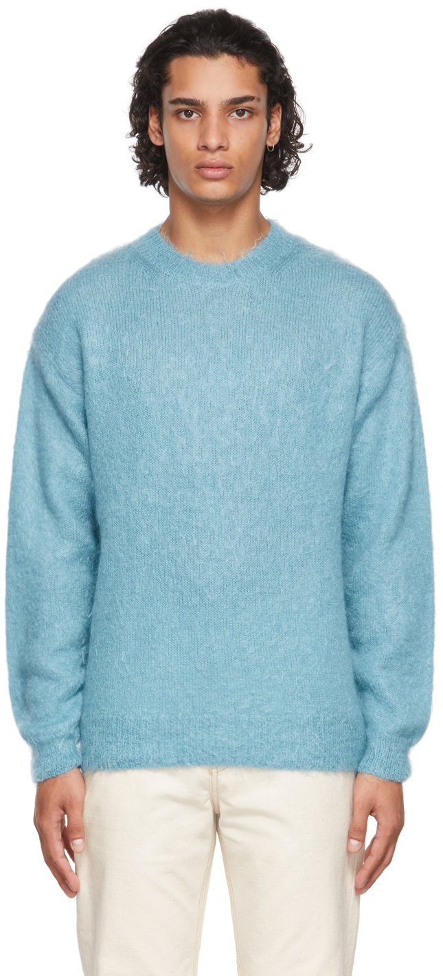 Blue Super Kid Sweater