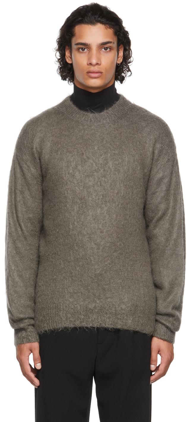 Grey Super Kid Sweater