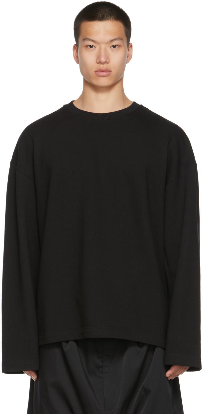 Black & Silver Crown Long Sleeve T-Shirt
