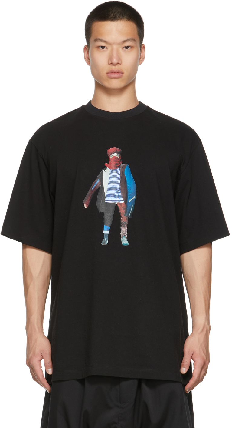 Black Collage T-Shirt