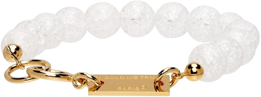 SSENSE Exclusive Gold Beaded Bracelet
