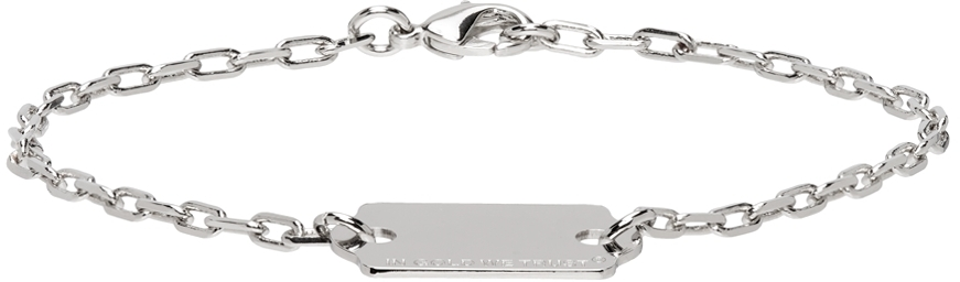 Silver Price Tag Bracelet