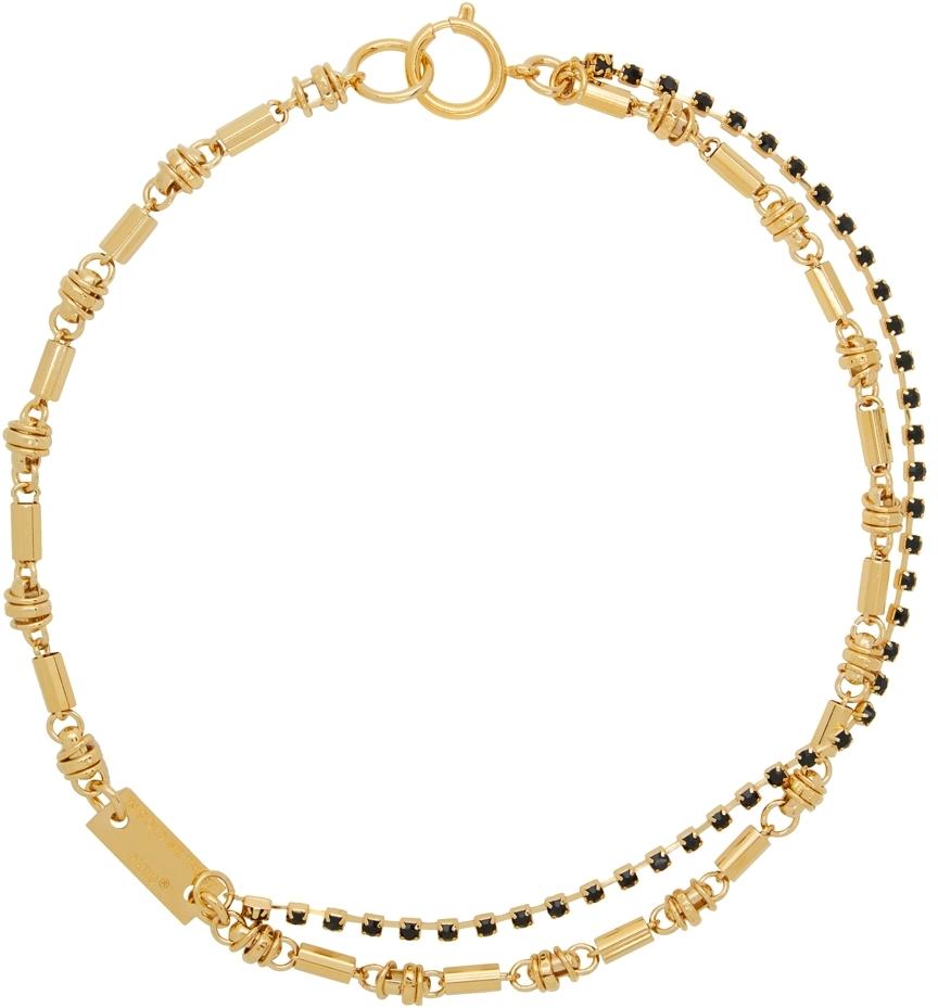 Gold Hippie Chain Necklace