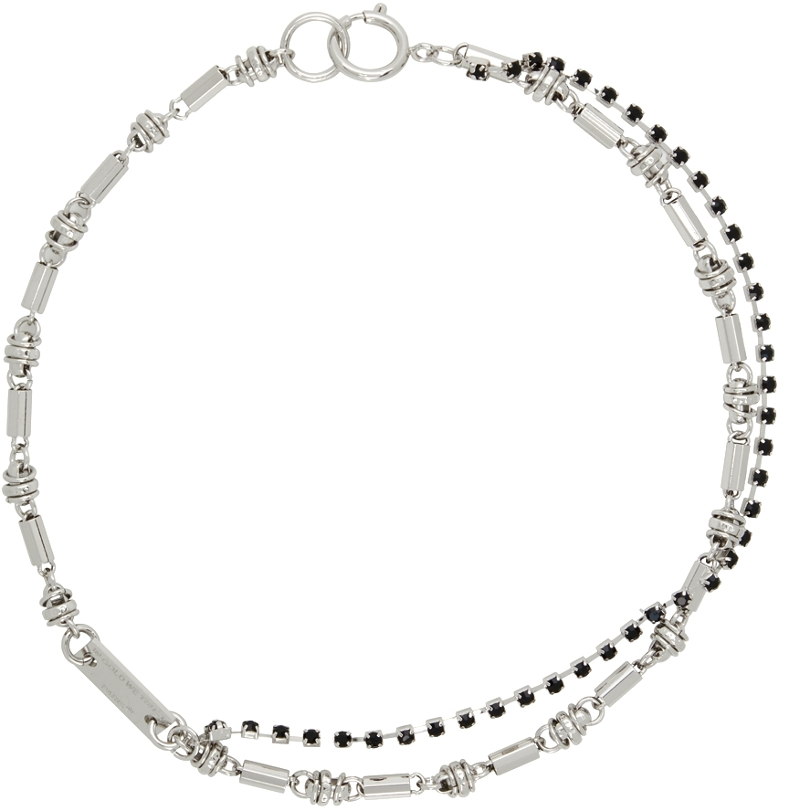 Silver Hippie Chain Necklace
