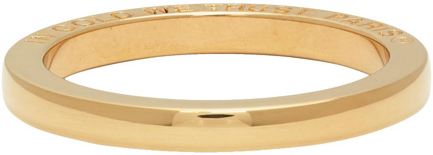 Gold Jump Ring