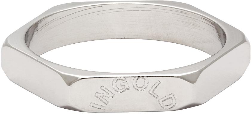 Silver Little Nut Ring