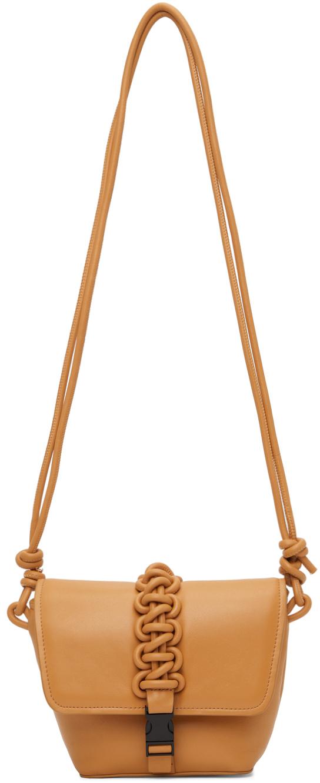 Tan Mini Switch Shoulder Bag