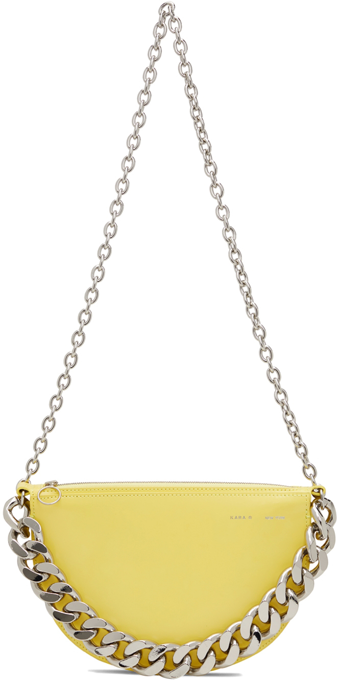 Yellow Starfruit Shoulder Bag