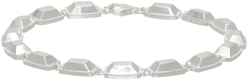 SSENSE Exclusive Silver 'The Jari' Bracelet