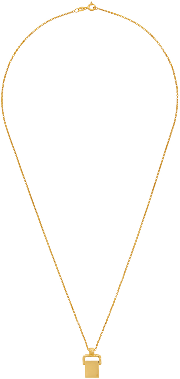 SSENSE Exclusive Gold 'The Alvah' Necklace