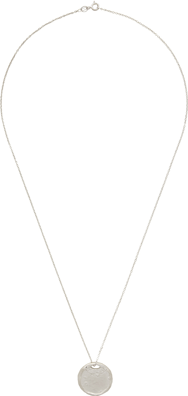 Silver 'The Hel'm' Necklace