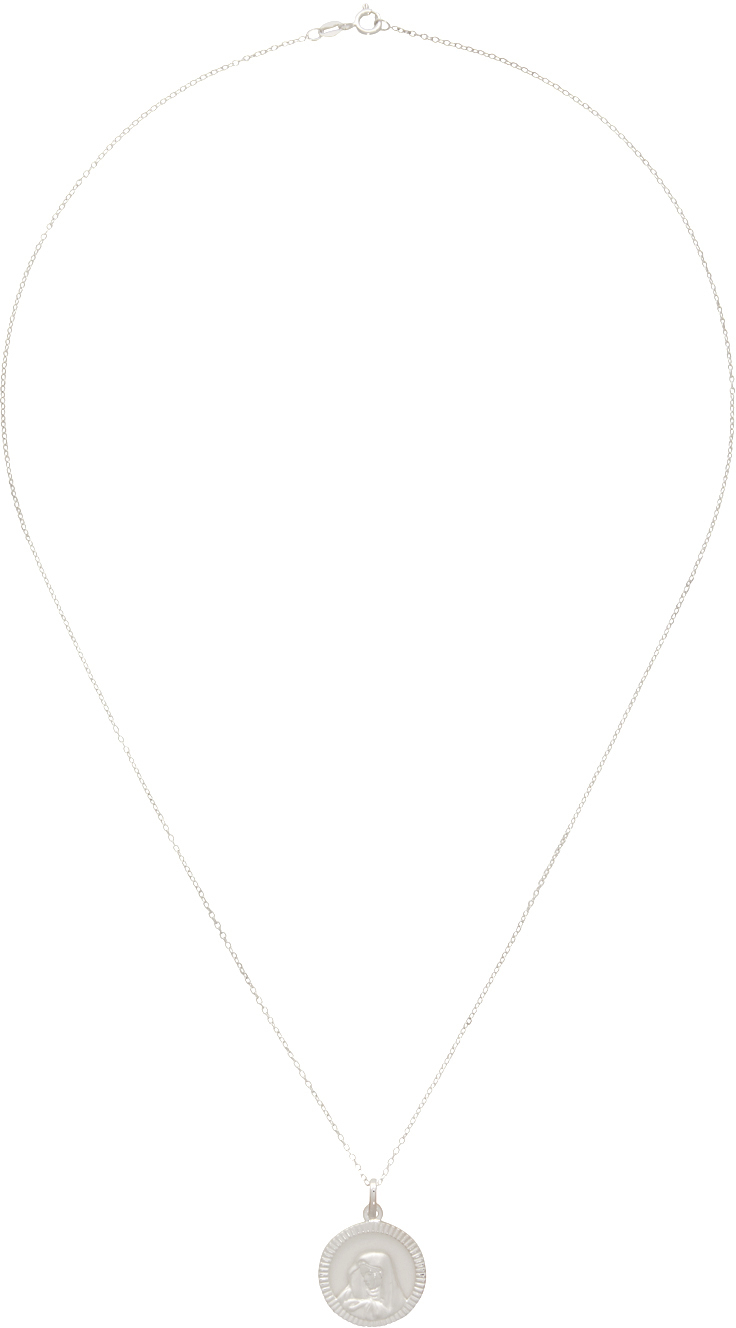 SSENSE Exclusive Silver 'The Naia' Necklace