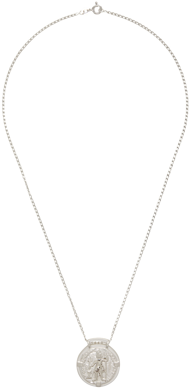 SSENSE Exclusive Silver 'The Ziya' Necklace