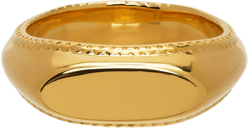 Gold 'The Mihna' Ring