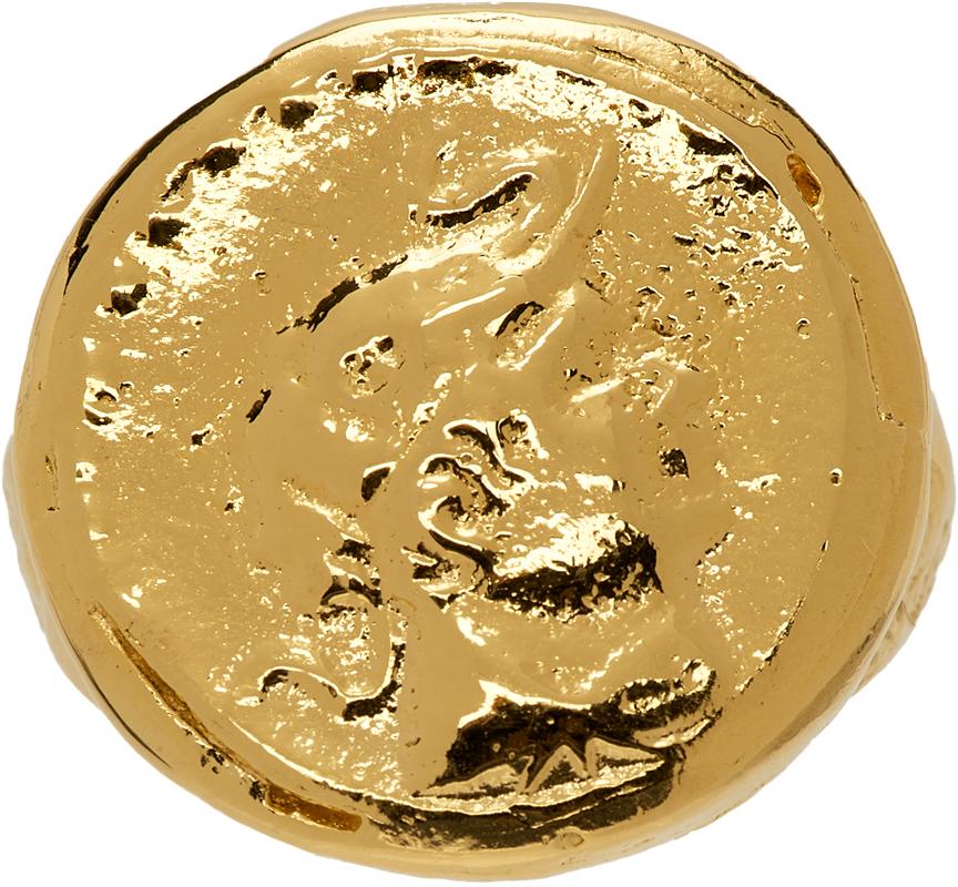 Gold 'The Ahdeem' Ring