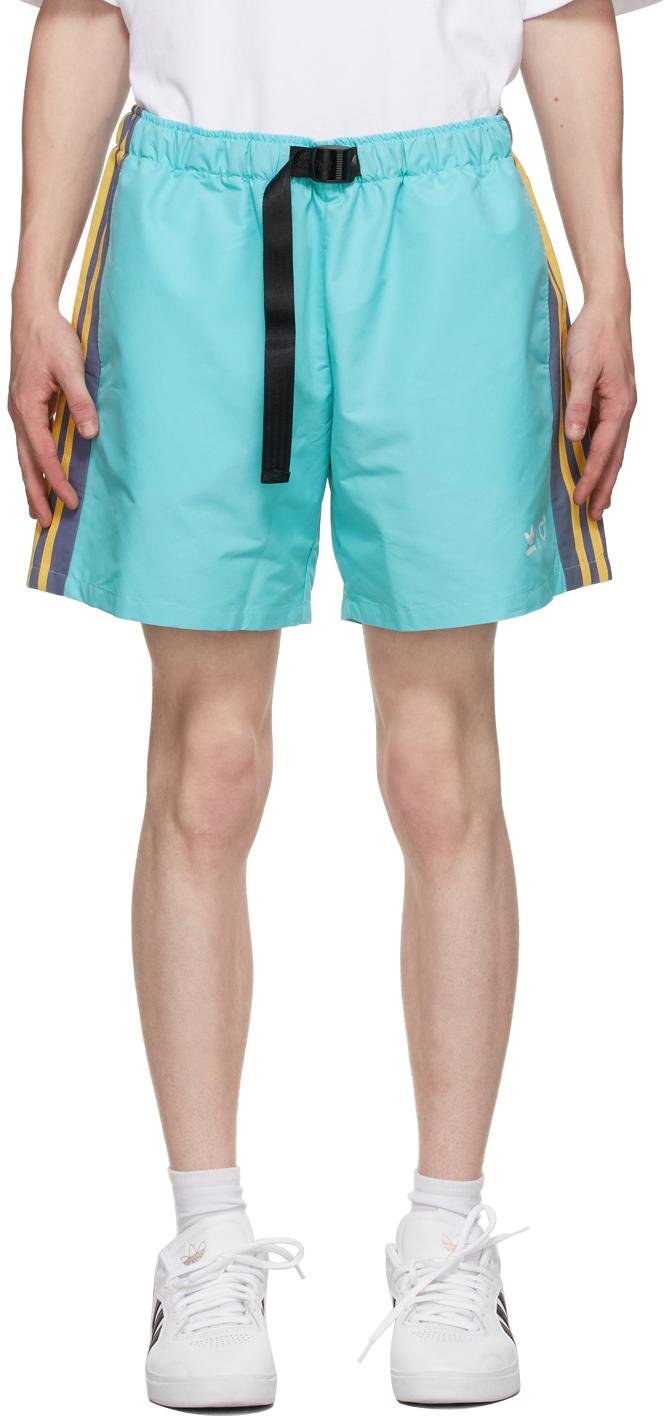 Blue Wind Shorts