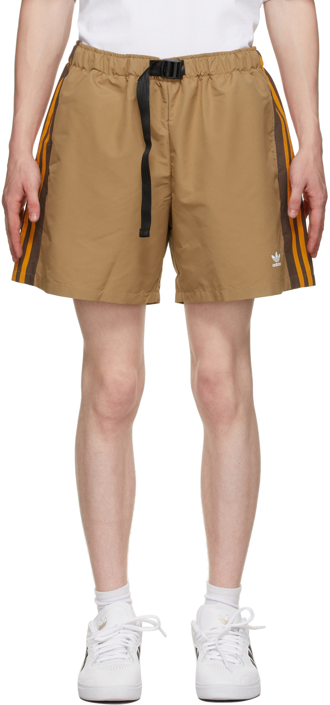 Brown Wind Shorts