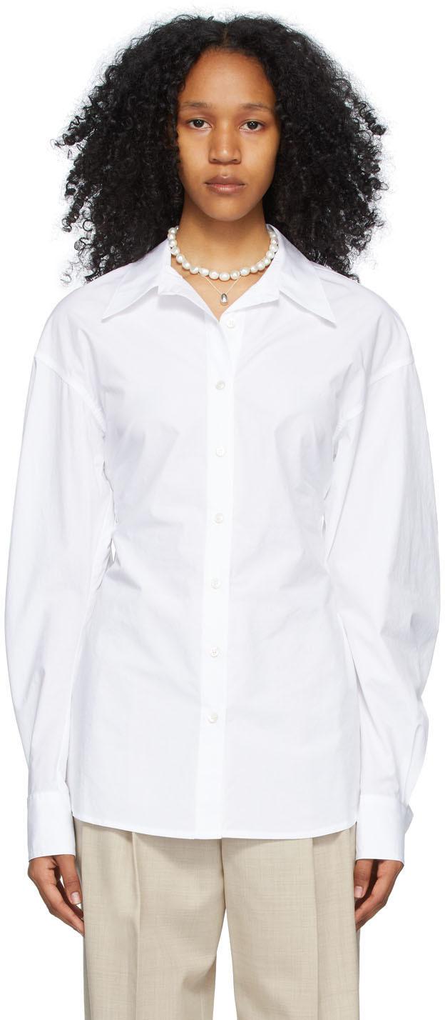 White Smocking Shirt