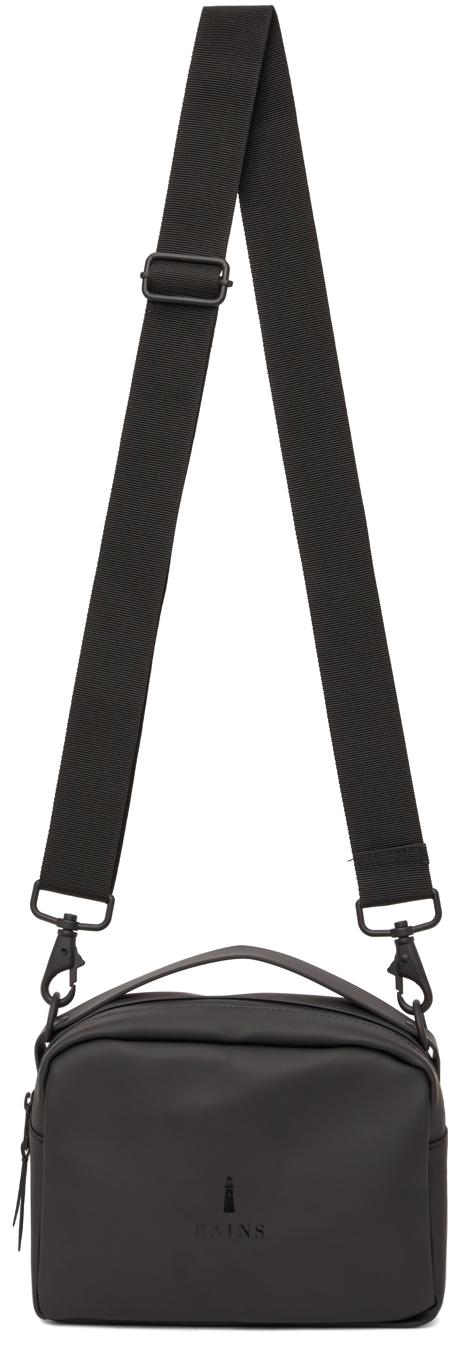 Black Waterproof Box Bag