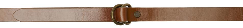 Tan D-Ring Belt