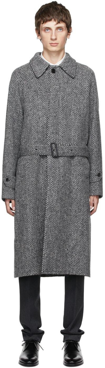 Grey Raglan Coat