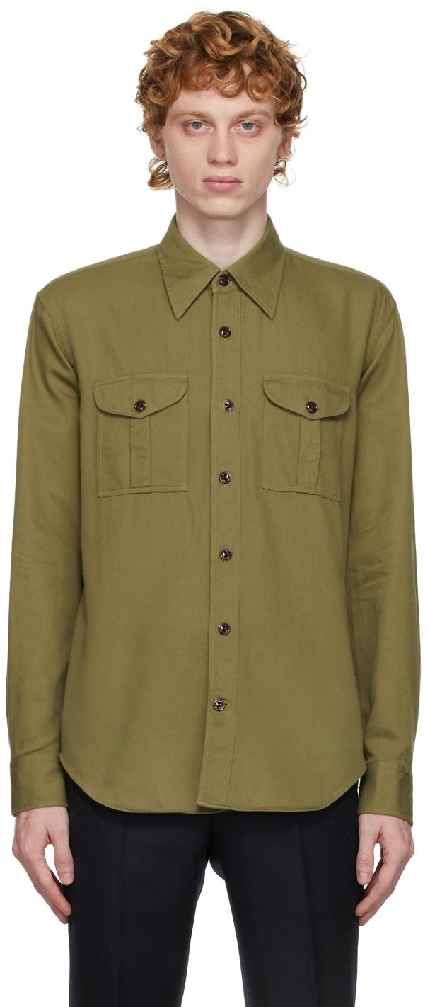 Khaki Boy Scout Shirt