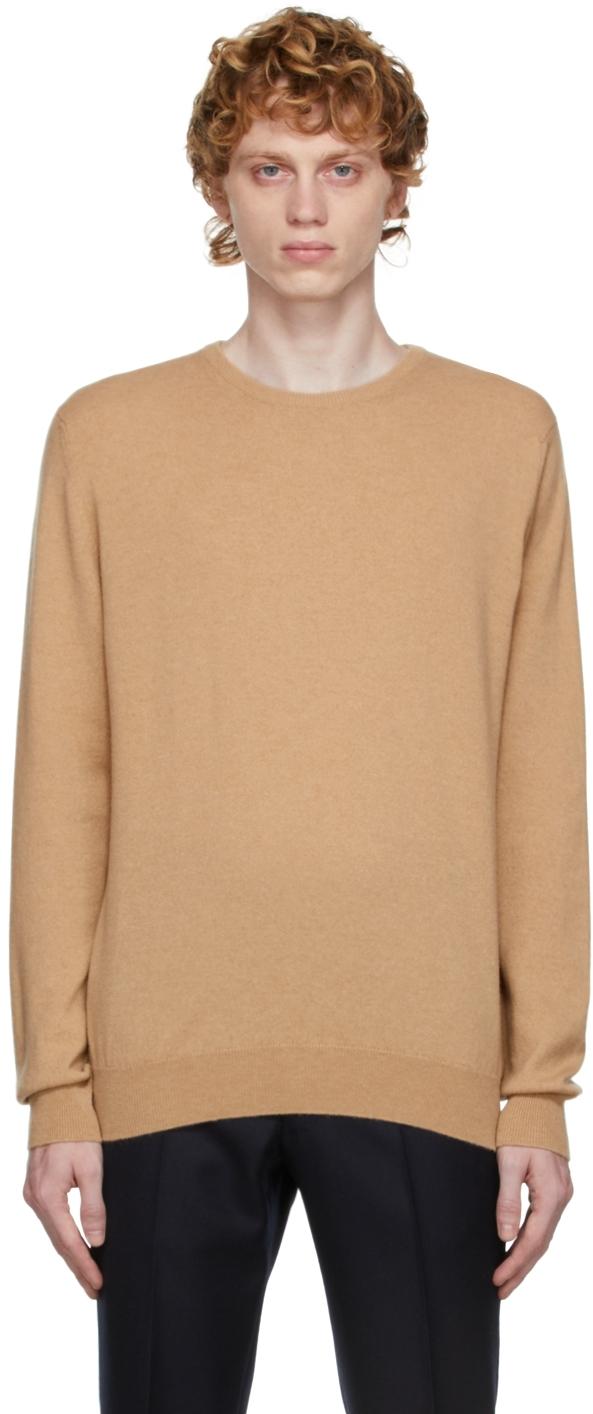 Tan Cashmere Sweater