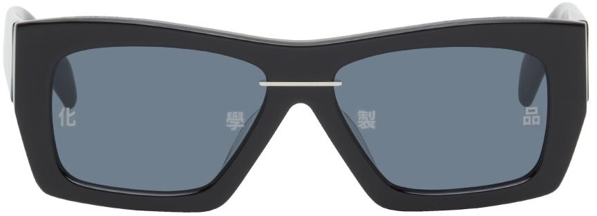 Black AKILA Edition Square Sunglasses