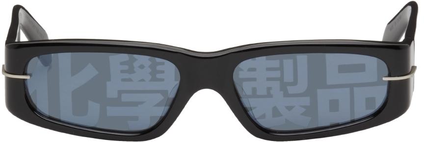 Black AKILA Edition Rectangular Sunglasses