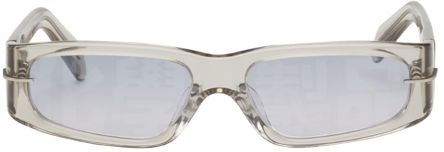 Grey AKILA Edition Rectangular Sunglasses