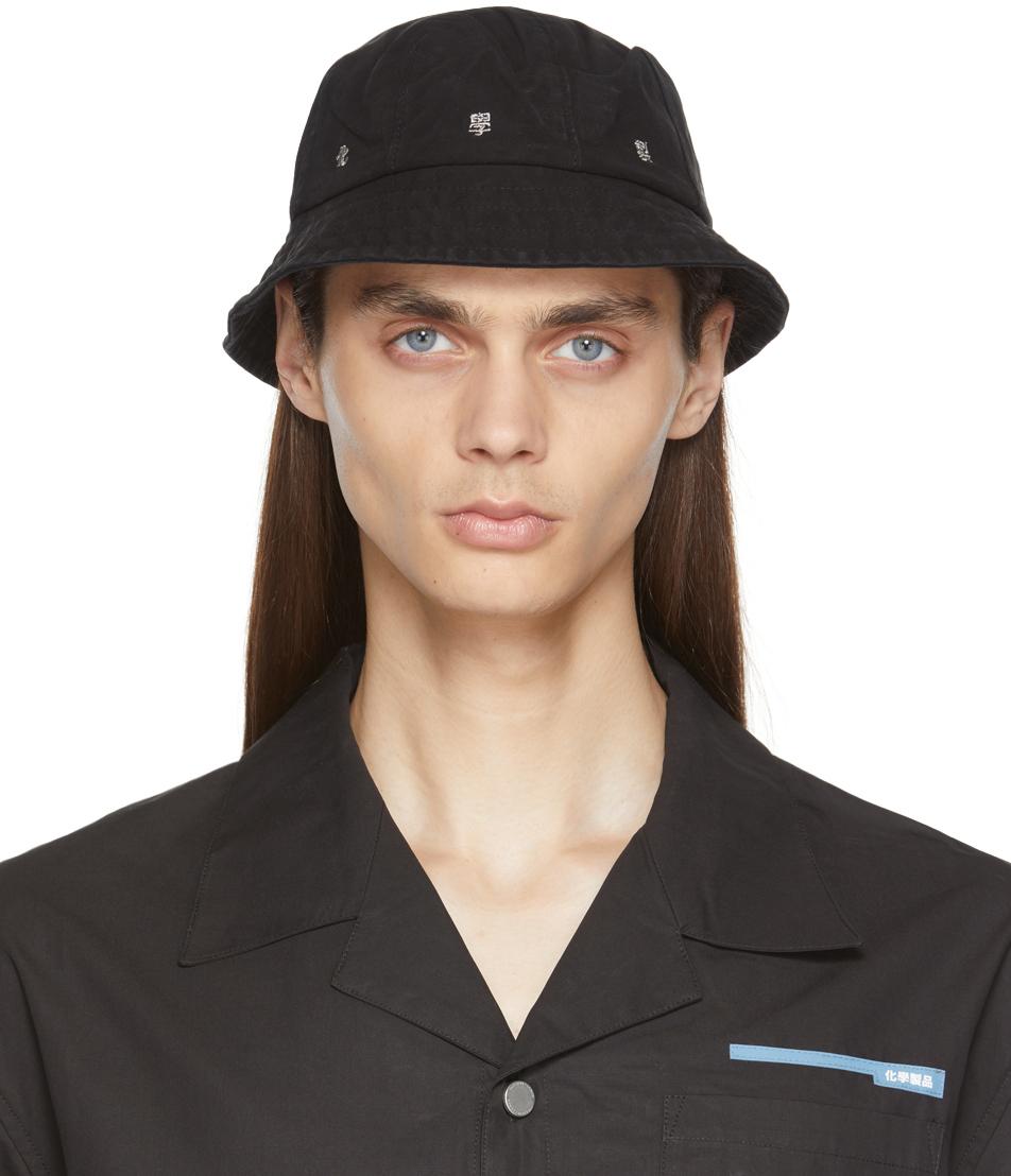 Black C2 Bucket Hat
