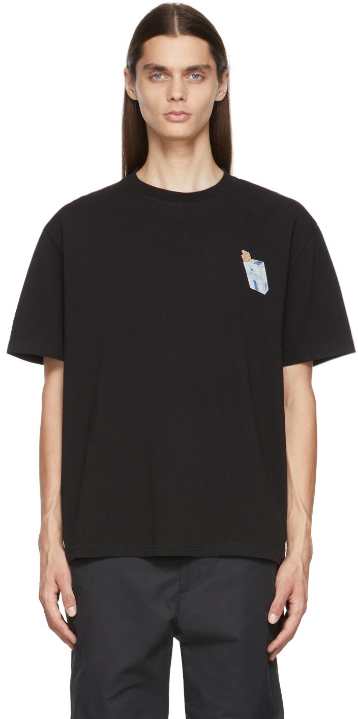 Black T2 Graphic T-Shirt
