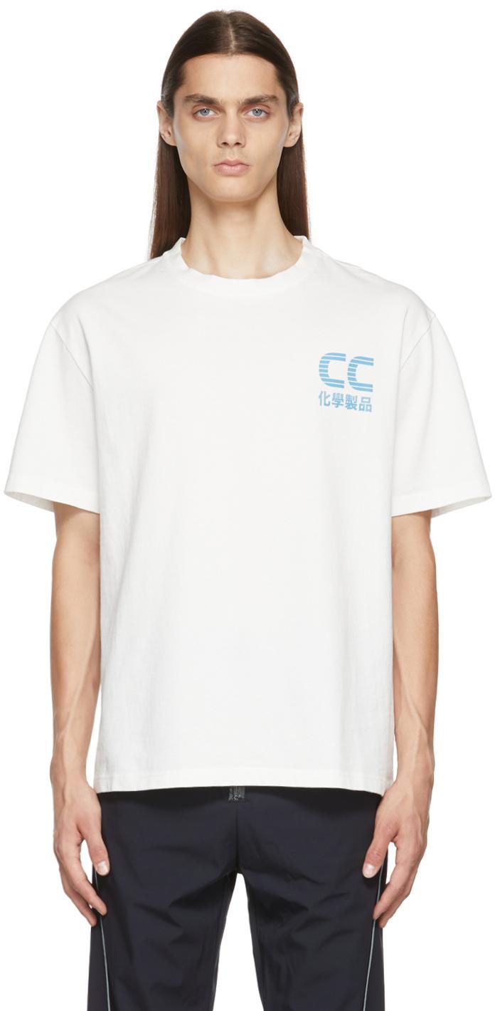 White T2 Logo T-Shirt