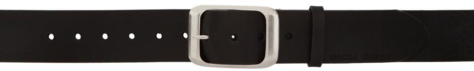Black Vintage Buckle Belt
