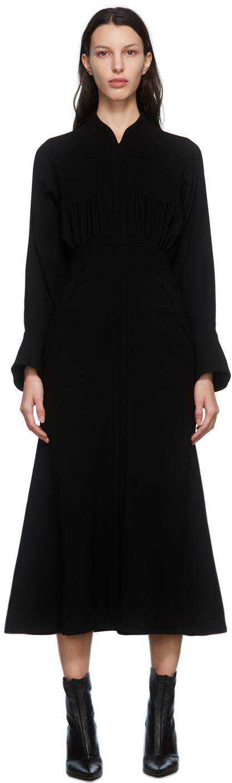 Wool Georgette Flare Dress